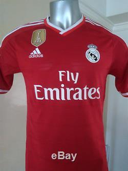 Real Madrid Cristiano Ronaldo Adidas Adizero Red Champions League Jersey F95648
