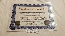 Real Madrid Cristiano Ronaldo CR7 Autographed Jersey Maglia Autografata COA