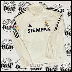 Real Madrid Farewell Zidane Jersey Match Worn Issued Shirt matchworn Adidas XL