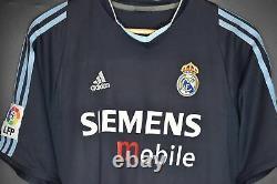 Real Madrid Figo 2004-2005 Original Away Jersey Size M (very Good)