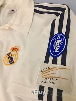 Real Madrid Football Shirt (M) McManaman Vintage Genuine Liverpool Adidas Jersey