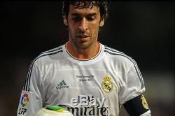 Real Madrid Formotion Match Unworn Homenaje Raul 6,8,10 Player Issue Jersey
