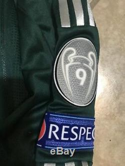 Real Madrid Formotion Ronaldo Juve Lg Shirt Player Issue Portugal Jersey Match