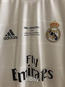 Real Madrid Formotion Sergio Ramos Player Issue Shirt Match UnWorn Jersey Spain