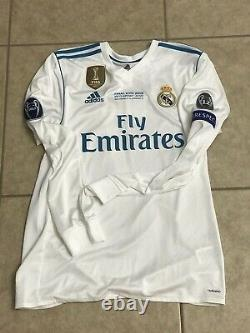 Real Madrid Gareth Bale CL Size 6 Wales Player Issue Shirt Match Jersey Football