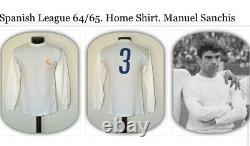 Real Madrid Gento Match Worn 1960 Maglia Shirt Camisa Trikot Jersey