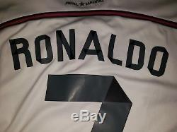 Real Madrid Home L/S Jersey 2014/2015 Ronaldo #7