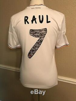 Real Madrid Homenaje Raul Spain Player Issue Formotion Shirt Football jersey