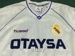 Real Madrid Hugo Sanchez 1990 L/s Authentic Vintage Jersey