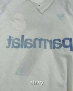 Real Madrid Hummel 87 88 Butragueño match worn. Shirt jersey