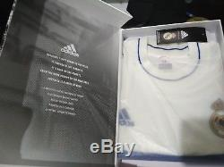 check out ab70b a0e9a Real Madrid Icon Limited Edition Retro Adidas Jersey Shirt ...