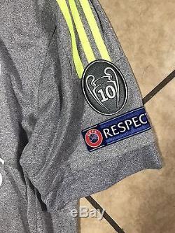 Real Madrid Isco Malaga Player Issue 6 Adizero Match Unworn Jersey Spain Shirt