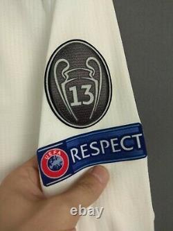 Real Madrid Jersey Authentic 2018/19 Long Sleeve MEDIUM Shirt Adidas DQ0869 ig93