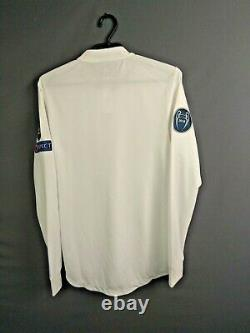 Real Madrid Jersey Authentic 2018/19 Long Sleeve SMALL Home Shirt Adidas ig93