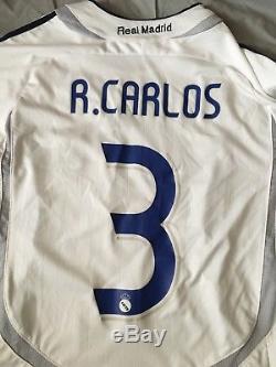Real Madrid Jersey Roberto Carlos #3