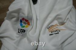 Real Madrid Jersey Shirt #7 Raul 100% Original Centenary 2001/2002 Home M NEW