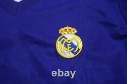 Real Madrid Jersey Shirt adidas 100% Original Centenary 2001/2002 3rd M