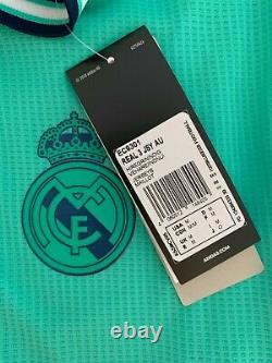 Real Madrid KROOS #8 2019 2020 AUTHENTIC Jersey Camiseta Adidas NEW