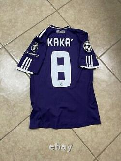 Real Madrid Kaka Brazil Maglia Player Issue Formotion Shirt Football Jersey