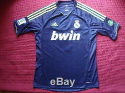 Real Madrid Karim Benzema Authentic Signed Away Shirt Jersey New Photo Proof