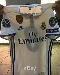 Real Madrid Kroos Bayern Munich Player Issue Adizero Match Prepared No Formotion