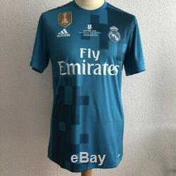Real Madrid Kroos Prepared Germany Player Issue Jersey Adizero MatchUnworn Shirt