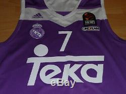Real Madrid Luka Doncic #7 Adidas AUTHENTIC Jersey EuroLeague Basketball NBA L M