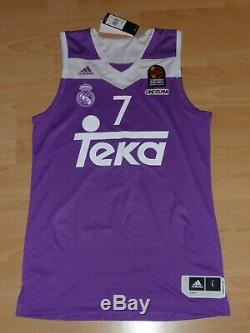 Real Madrid Luka Doncic #7 Adidas AUTHENTIC Jersey EuroLeague Basketball NBA M L