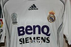 Real Madrid Match Worn Jersey 2006/2007 Raul
