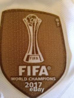 Real Madrid Match Worn Jersey Shirt Luka Modric-2018