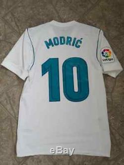 Real Madrid Match Worn Trikot Jersey Luka Modric-unwashed-2017-18