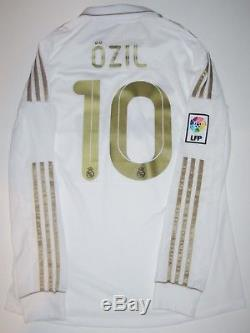pick up 7a62b c4e82 Real Madrid Mesut Ozil Adidas Kit 2011 Long Sleeve Jersey ...