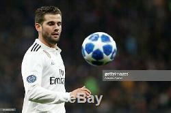Real Madrid Nacho Maglia Shirt Jersey Match Worn Champions League 2018/2019