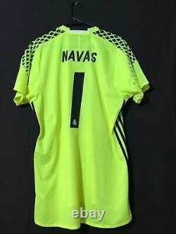Real Madrid Navas 8 Psg Player Issue Goalkeeper Jersey Adizero Football Shirt