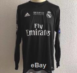Real Madrid Navas Costa Rica Shirt Player Issue Adizero Match Prepared Jersey