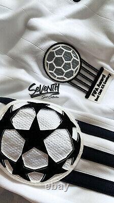 Real Madrid Official 2006-2007 Jersey Beckham Long Sleeve Home UCL Shirt LS (S)