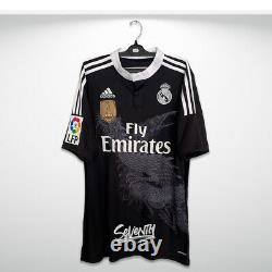 Real Madrid Official 2014 2015 Yamamoto Shirt Chicharito Liga Edition Jersey (M)
