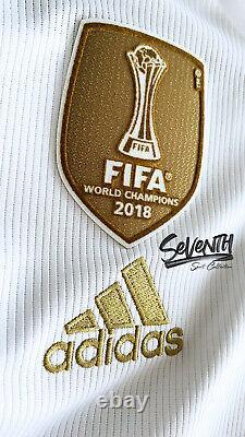 Real Madrid Official 2019 20 Jersey Sergio Ramos La Liga Long Sleeve Shirt LS