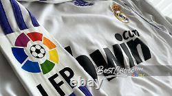 Real Madrid Official Raul Shirt 2007 2008 Jersey Long Sleeve Home (l) La Liga