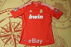 Real Madrid Ozil #10 2011-2012 Football Shirt Jersey Adidas Third Original
