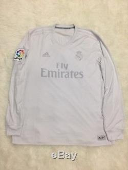 Real Madrid Parley 2016 Football Shirt Jersey Match Issued Not Worn Long Sleeves