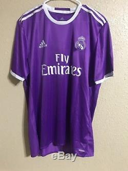 Real Madrid Player Issue 6 football Adizero No Formotion Shirt Match Jersey