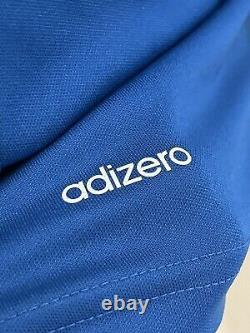 Real Madrid Player Issue 8 Adizero Shirt Issue Spain Iker Casillas Jersey