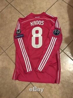 san francisco 7e3b4 4a1cf Real Madrid Player Issue Adizero Kroos Jersey Bayern Munich ...
