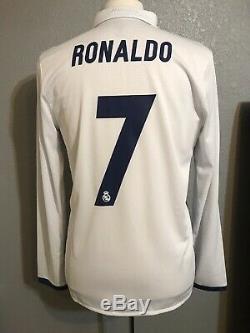 Real Madrid Player Issue Adizero Match Prepared Match Unworn Ronaldo 8 Jersey