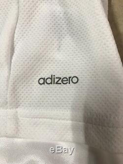 Real Madrid Player Issue Adizero Match Unworn 8 Football Shirt Formotion Jersey