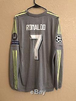 Real Madrid Player Issue Adizero Ronaldo No Formotion Match Unworn Shirt Jersey