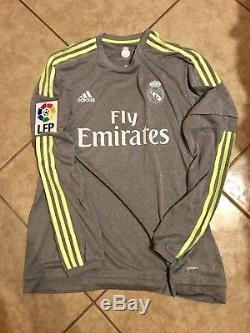 Real Madrid Player Issue Jersey Adizero Match Unworn Benzema France Shirt