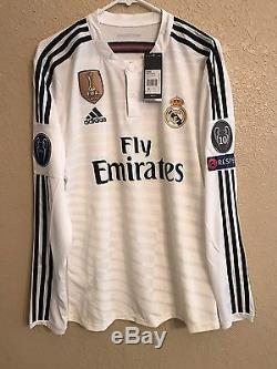 Real Madrid Player Issue Match Unworn adizero No Formotion Ronaldo Bale EraShirt