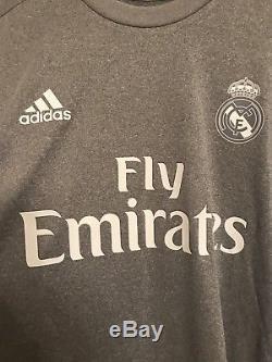 Real Madrid Player Issue Nacho Spain Shirt Adizero Jersey Trikot Match Unworn